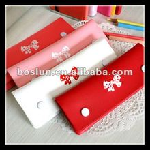 Wholesale Korean colourful fabric pencil case