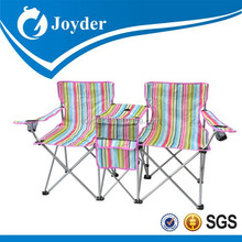 Folding Camp Chairs Double Chair Lawn Cup Holder Beach Pool Fishing furniture Gift