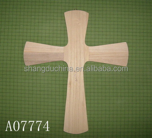 Art minds unfinished small wooden crosses wholesale view for Cheap wooden crosses for crafts