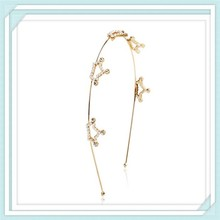 2015 gold plated star hairbands headbands hair products Hair Accessories metal hoop for women
