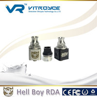 2015 factory supply newest big vapor rda hell boy, high quality with fast delivery