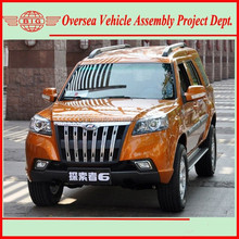 2771cc common rail diesel fuel china suv 4wd (CKD/SKD available for local assembling)