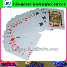 555 playing cards with optional finishing