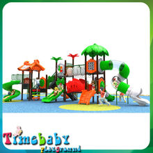 CE Safety Outdoor Children's Playground, Commercial Outdoor Playground Playsets