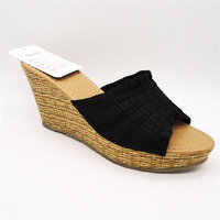 Stylish PU wholesale woman shoes in los angeles ca