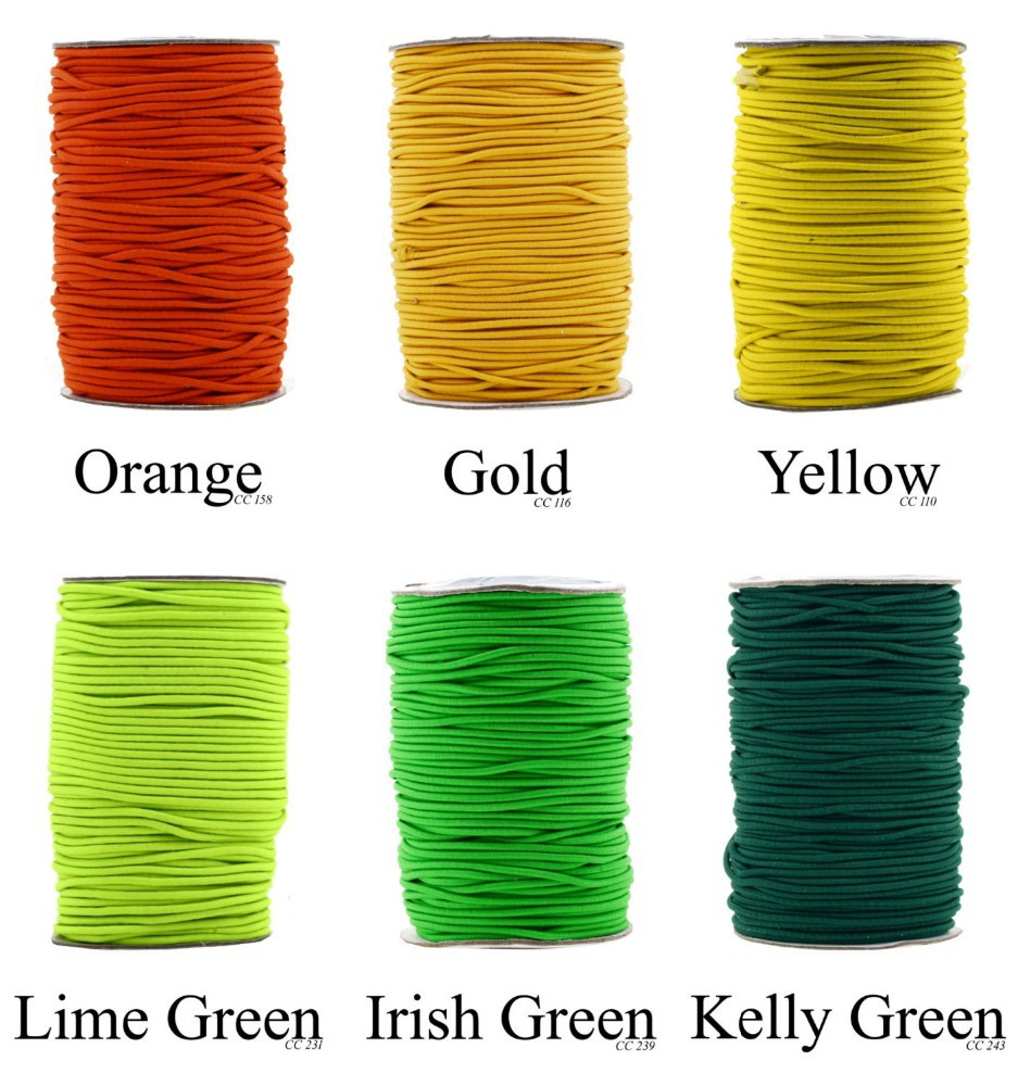 Fabric Elastic Cord Yarn Fabric Elastic Cord