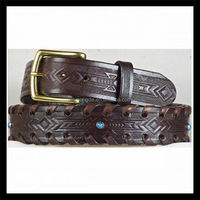 buy direct from china factory Embossed rhinestone leather black bow belt