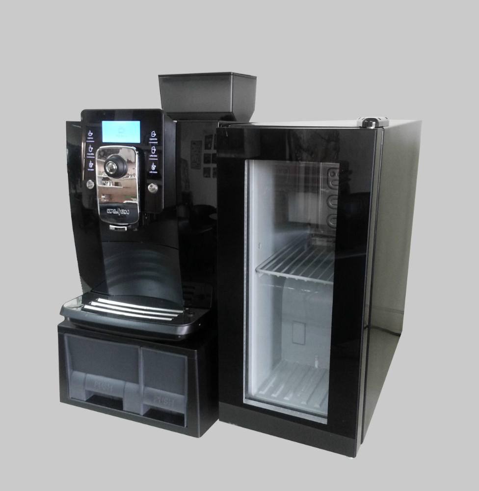 New italy design large capacity commercial vending and New coffee machine