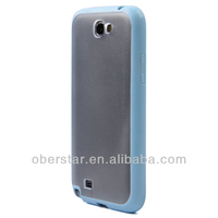 Soft TPU Bumper Frame Matte Clear Cover For Samsung Galaxy S4 i9500 Hard Back Case