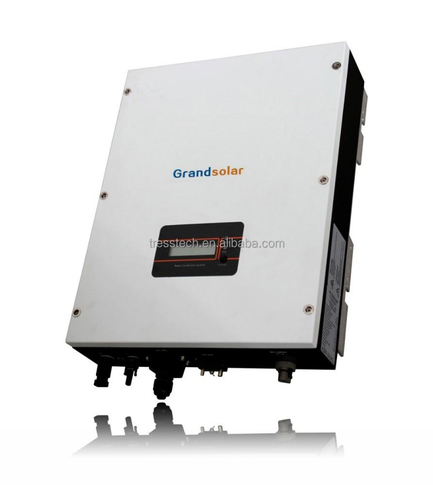 Solar Inverter Grid Tie Circuit 5000 Watt Power Schematic Micro Gel Pictures Of