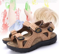 D70339H 2015 summer New Fancy children casual leather sandals boy