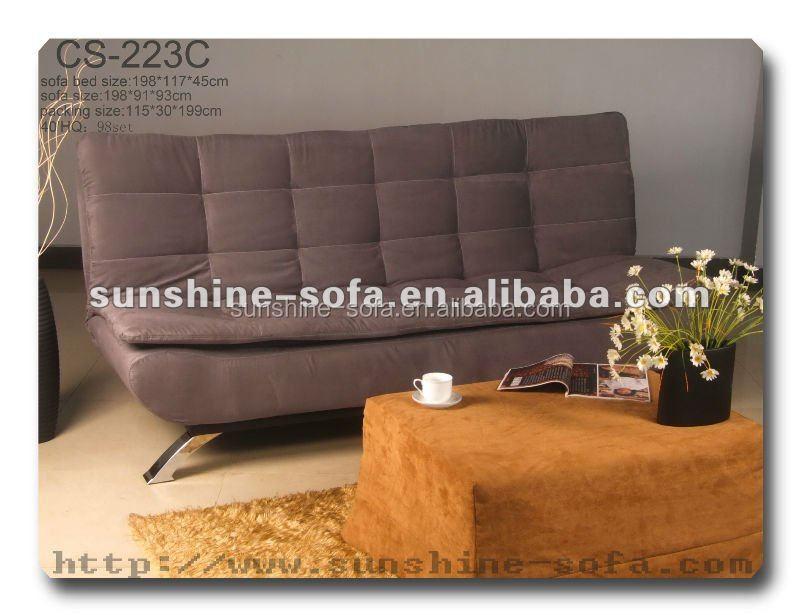 European Style Modern Generous Chamios Leisure Futon Sofa