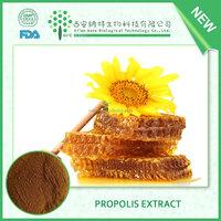 TOP grade propolis extract powder/100% Water Soluble green propolis extract powder