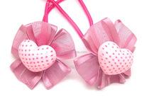 Pink Cute Girls Heabands, Girls Ponytail Holder, Kids Hairbands