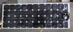 1445*540*3mm Sunpower Flexible solar panel 130w with waterproof