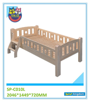 Solid pine wood toddler bed,kids twin bed,kids portable bed#SP-C010L