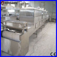 Tunnel type Onions microwave drying/dryer machine/dry sterilizer equipment