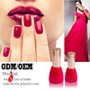 Classical Chinese red color uv gel with sample free (OEM)