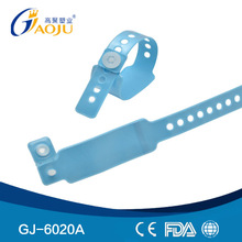GJ-6020A Card Insert PVC Material Child Size smart id card wristband