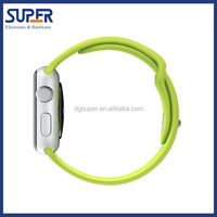 For iwatch band, replacement genuine silicone band for iwatch apple wholesale