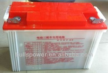 Best price of electric car batteries sale,6-DG-180A agm deep cycle battery,12v110ah dry charged rickshaw battery