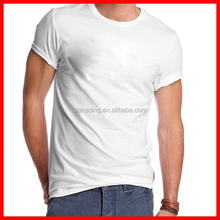 Wholesale blank t-shirt 100% cotton 180 gsm competitive price
