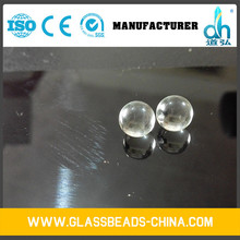 Specific gravity 2.4-2.6 G / Cc and round cheap glass beads
