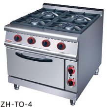 Stainless Steel Free Standing Commercial Gas Range, Cooking Range