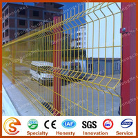 Square post fence/iron wire mesh fence/parking fence for road division