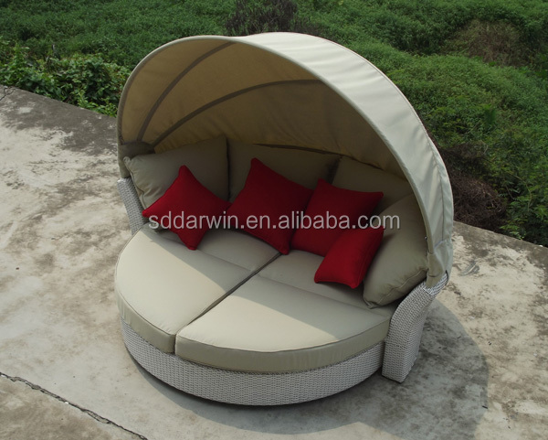 Poly Rattan Outdoor Day Bed DW-B011