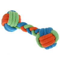 Dog Chew Toy For Pet Colored Dumbbell Foam Parrot Perches Rope Balls Plush Gorilla Dog Pet Fashion Dog Toy