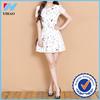 Yihao Women's Summer chiffon Floral Casual Short sleeve Evening Cocktail Party beach sundress