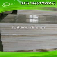High quality of paulownia edge glued panel/lumber prices paulownia battern