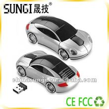 fashion car shape optical wireless presenter mouse