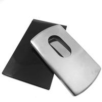 LIHAO Business Name Card Holder Stainless Steel Case