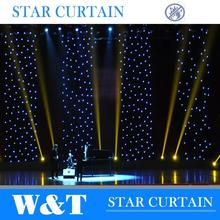 Charming led sky LED Vision Curtain for stage decoration