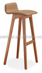 2015 new collection American red oak wooden bar stool (NP2760)