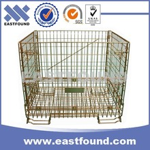 China Ebay Website Welded Folding Storage Steel Wire Crate