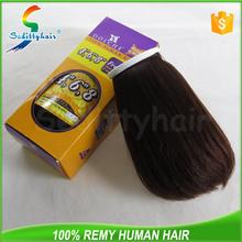 2015 Promotion 100 pure virgin human hair with great price