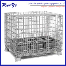 mesh box fit storage management mesh container save warehouse space storage cage