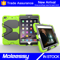New arrival promotional tablet case for Apple for ipad mini for ipad mini123 kid proof case cover