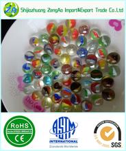 2015 chine usine décoration solide transparent / transparent boules de noël en verre