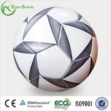 Zhensheng PVC Football Soccer Ball Machine Stitched Training Football