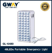 48 LED emergency lantern with rechargeable 6V,4AH battery,transforme charging