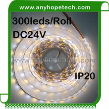 5mm width 60leds rgbw nonwaterproof led tape light