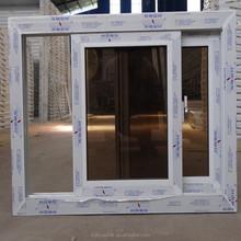 Wanjia security glass PVC sliding glass window