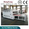 hot sale semi auto corrugated carton water ink flexo multicolors printing slotting die cutting machines