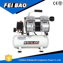 mini piston oil free air compressor/silent oil free air compressor/energy saving mute oil free air compressor
