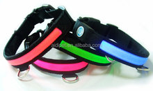 2015 CE, RoHS flashing led pet dog collar, dog pet collar led