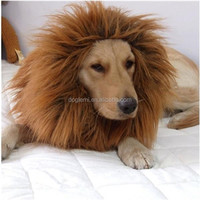 Trade Assurance FREE SHIPPING wholesale factory price hot selling dog products pet dog wig funny Wigs for Dog